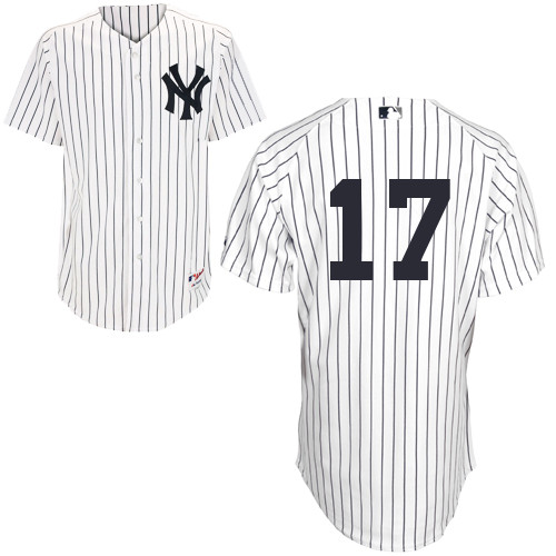 Brendan Ryan #17 MLB Jersey-New York Yankees Men's Authentic Home White Baseball Jersey