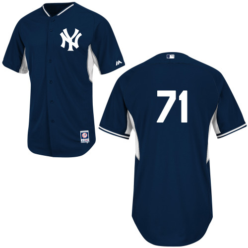 Corban Joseph #71 mlb Jersey-New York Yankees Women's Authentic Navy Cool Base BP Baseball Jersey