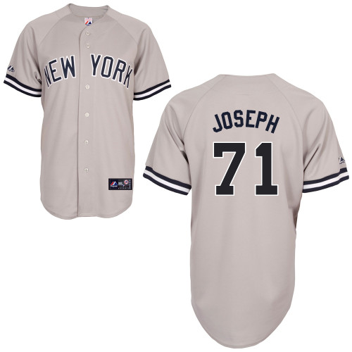 Corban Joseph #71 mlb Jersey-New York Yankees Women's Authentic Replica Gray Road Baseball Jersey