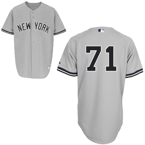 Corban Joseph #71 mlb Jersey-New York Yankees Women's Authentic Road Gray Baseball Jersey