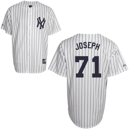 Corban Joseph #71 Youth Baseball Jersey-New York Yankees Authentic Home White MLB Jersey