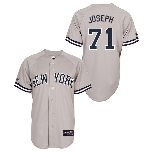 Corban Joseph #71 Youth Baseball Jersey-New York Yankees Authentic Road Gray MLB Jersey