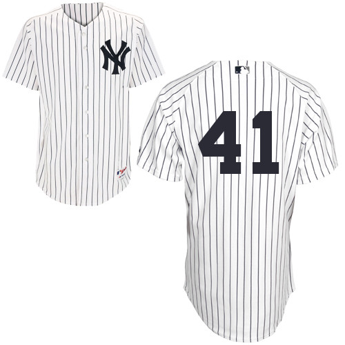 David Phelps #41 MLB Jersey-New York Yankees Men\'s Authentic Home White Baseball Jersey