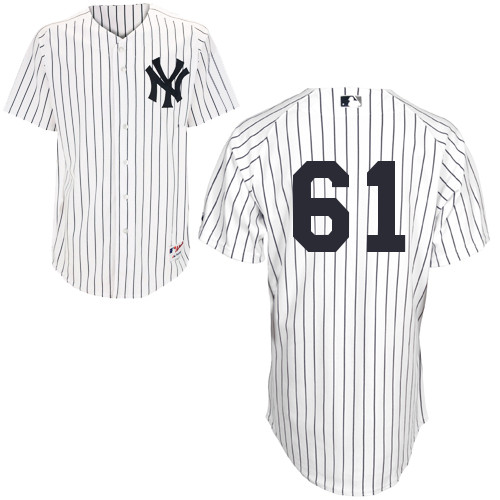 Shane Greene #61 MLB Jersey-New York Yankees Men's Authentic Home White Baseball Jersey