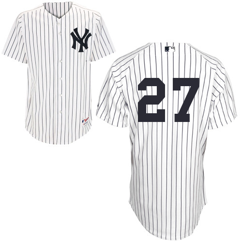 Shawn Kelley #27 MLB Jersey-New York Yankees Men's Authentic Home White Baseball Jersey